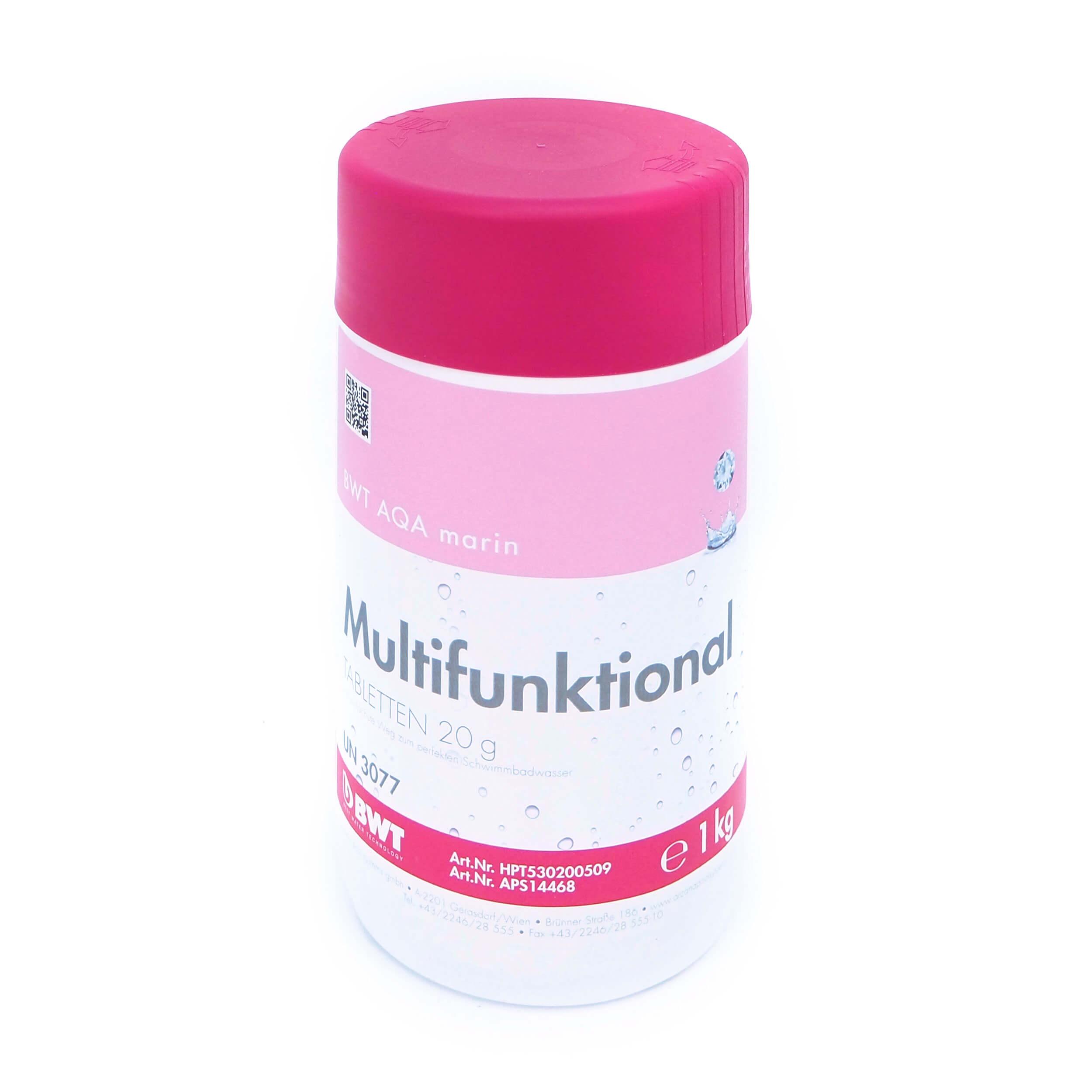 Multifunktional Chlor Tabletten 80% 20g 1kg