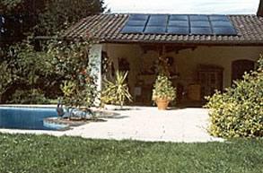 OKU Solar-Absorber-Anlage für Schwimmbecken bis 18 m² Wasseroberfläche