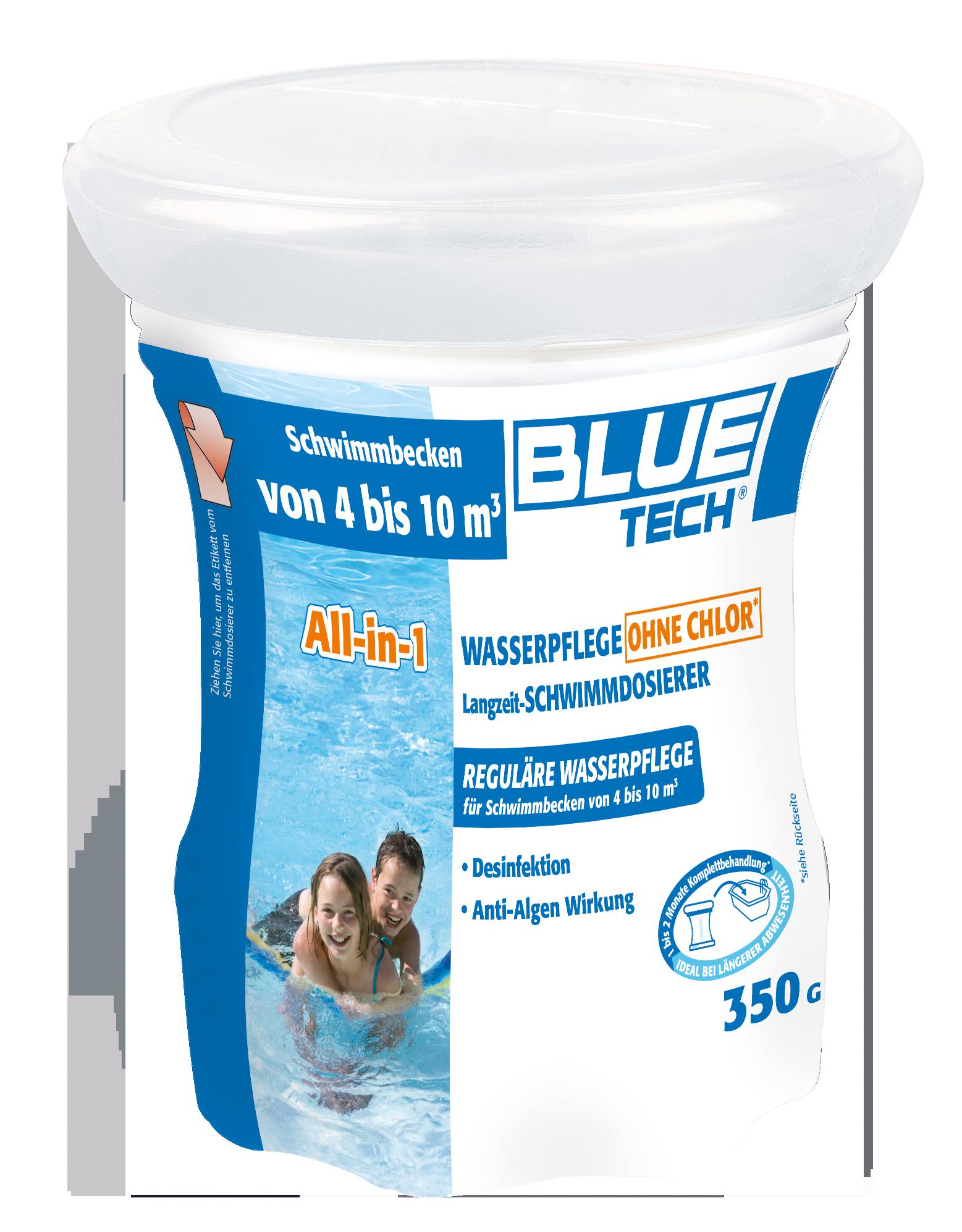 All-in-1 Wasserpflege ohne Chlor von 4-10m³