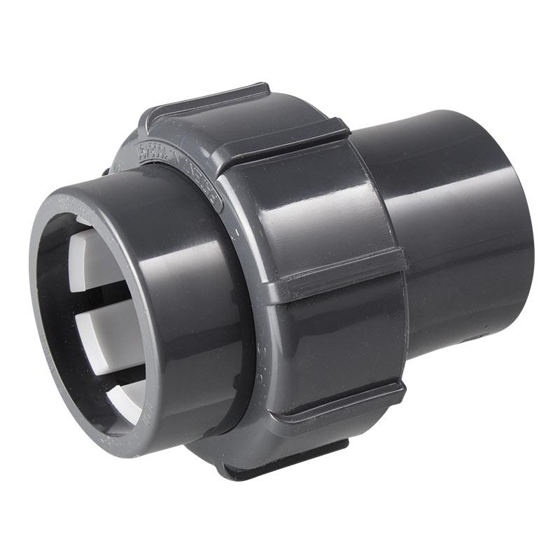 """Flex Fit Übergangsverschraubung, Ø50mm Klemm/1 1/2"""" iG"""