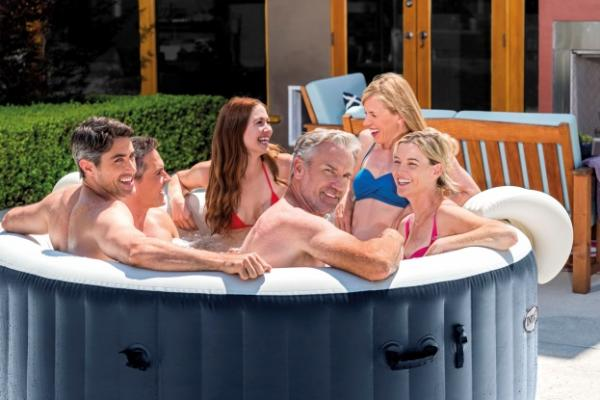 Intex Whirlpool PureSpa Plus 216x71 Spa Pool 6 Personen