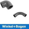 PVC Winkel + Bögen