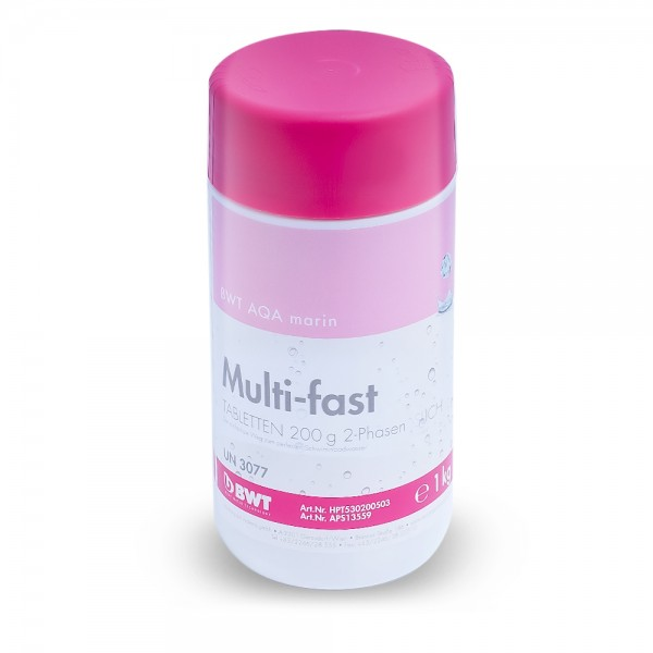 Multi-fast 2-Phasen 200g 1kg